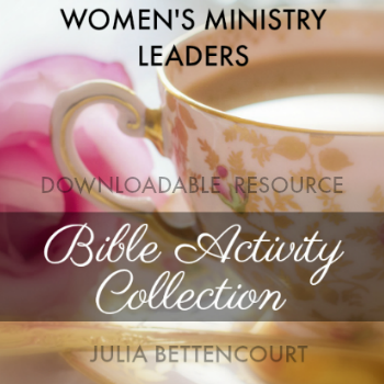 Bible Activity Download for Women's Ministry