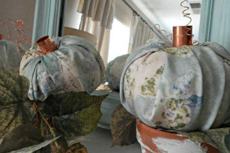 Copper Plates for Pumpkin Pedestals