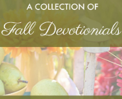 Fall Devotional Collection