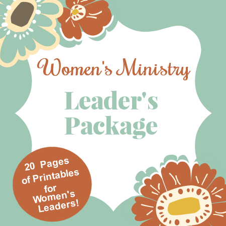 Printables for Women's Ministry Leaders