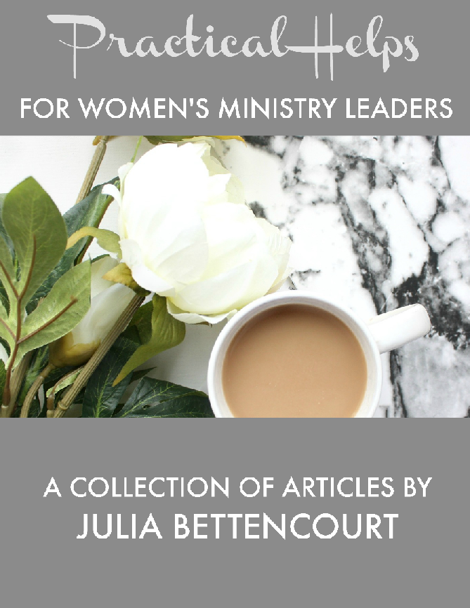 Women's Ministry Practical Helps