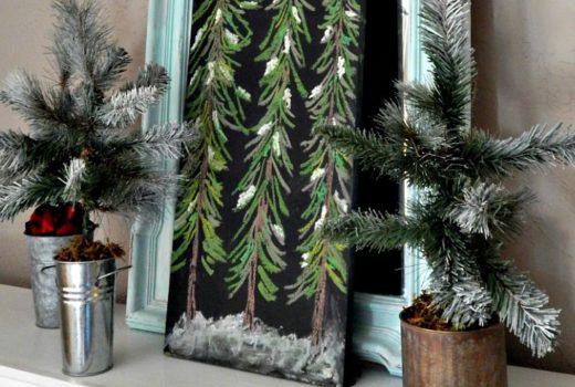 Tabletop Mini DIY Christmas Tree