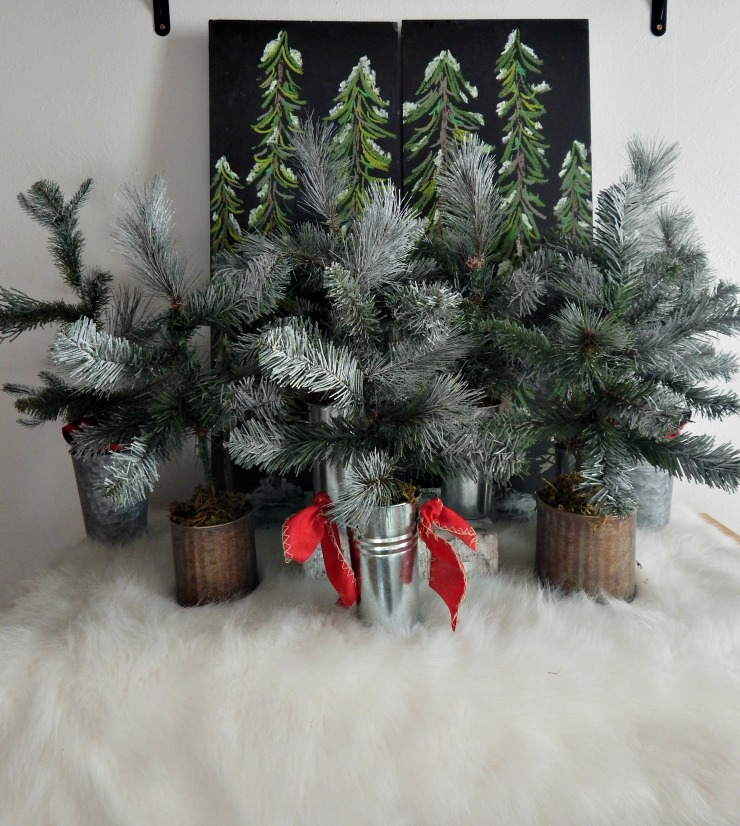 Winter Wonderland DIY Christmas Tree