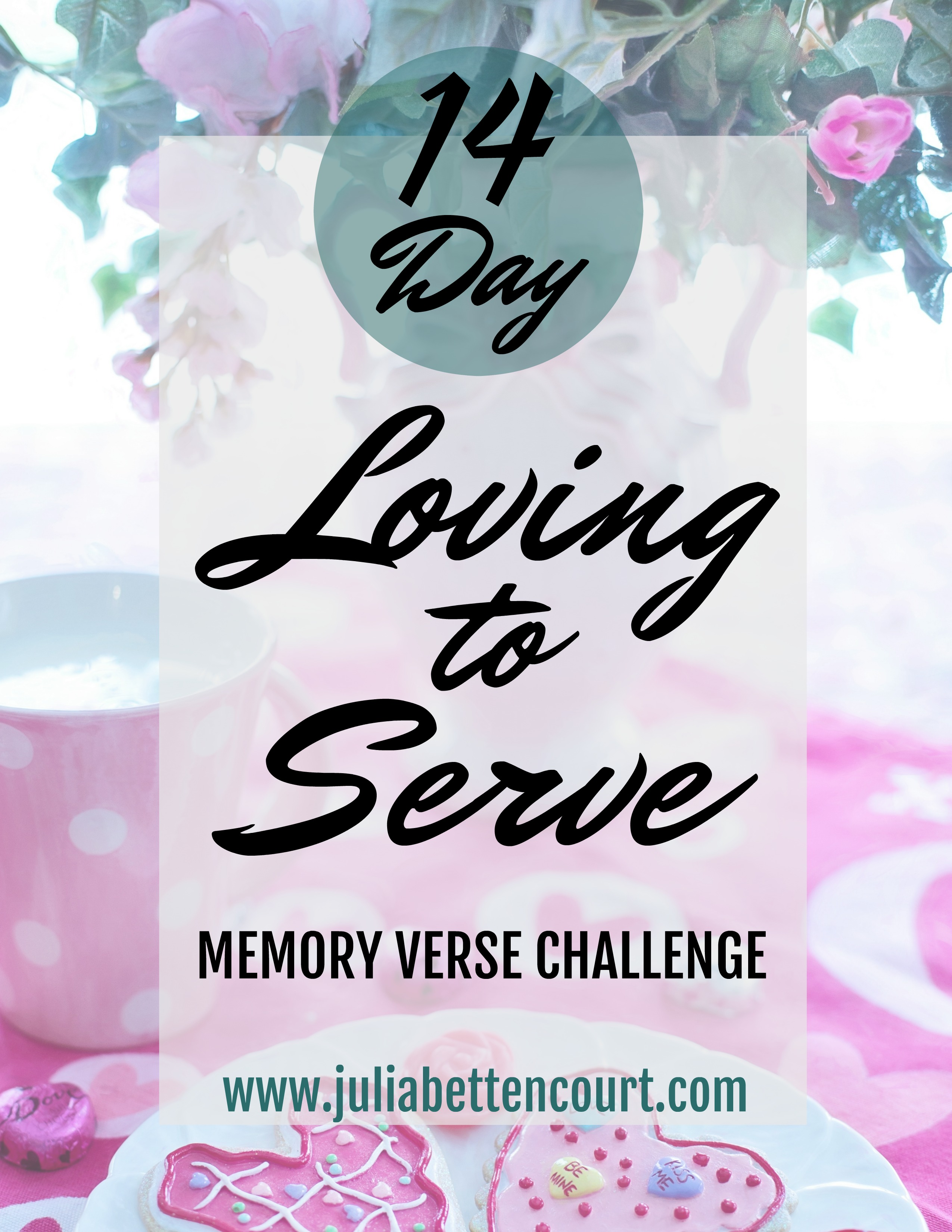 Valentine's Memory Verse Challenge