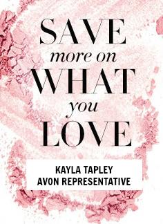 Shop Avon with Kayla Tapley
