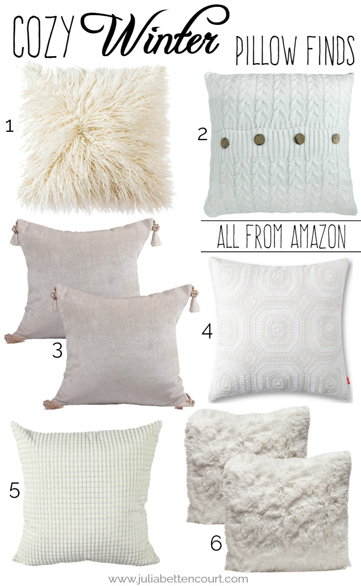 Cozy Winter Pillow Finds