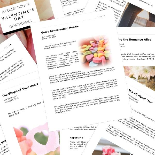 Sample Valentine's Day Devotional Collection
