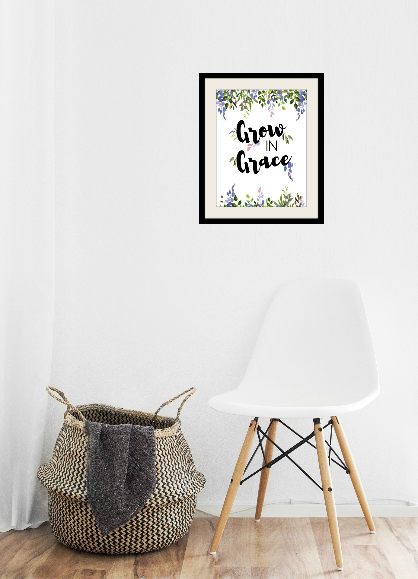 Grow in Grace Printable Scripture Art  sc 1 st  Julia Bettencourt & Julia Bettencourt Blog - Shop: Grow in Grace Wall Art